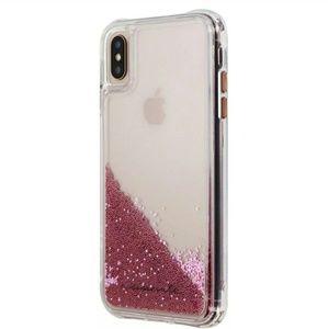 Brand New Case-Mate Waterfall Liquid Glitter Case